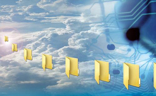 discos duros en la nube