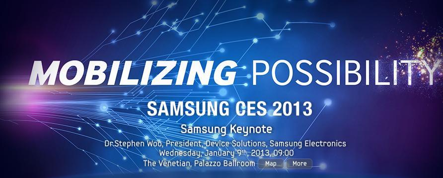 Samsung Electronics  CES 2013
