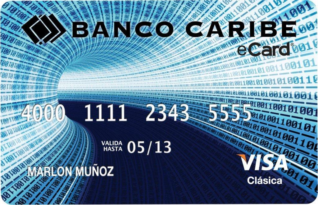 eCard primera tarjeta para compras por Internet
