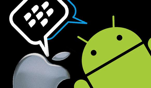 Blackberry Messenger estará disponible para iPhone y Android