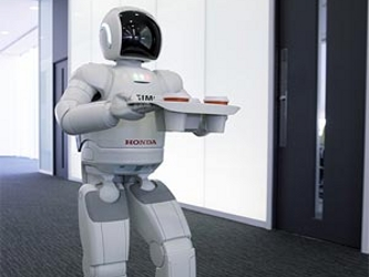 robot trabajando