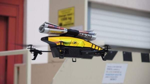 China desarrolla aviones no tripulados para repartir paquetes a domicilio