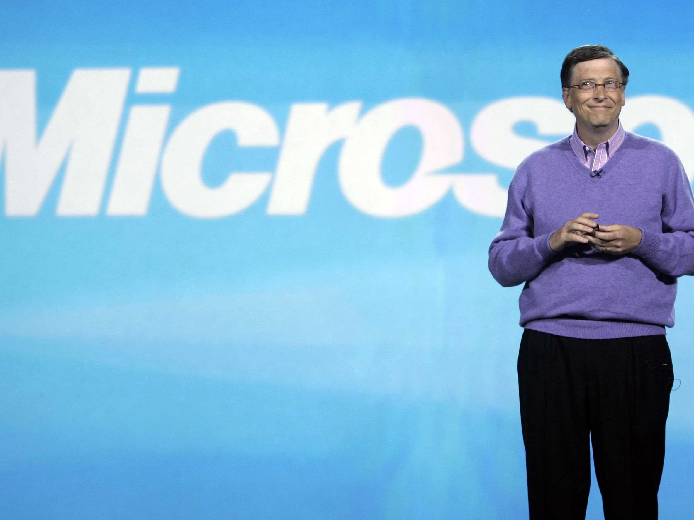 bill gates and the microsoft corporation As the amount of msft stock held by bill gates dwindles, one wonders whether he shouldn't hang on to microsoft and sell something else.