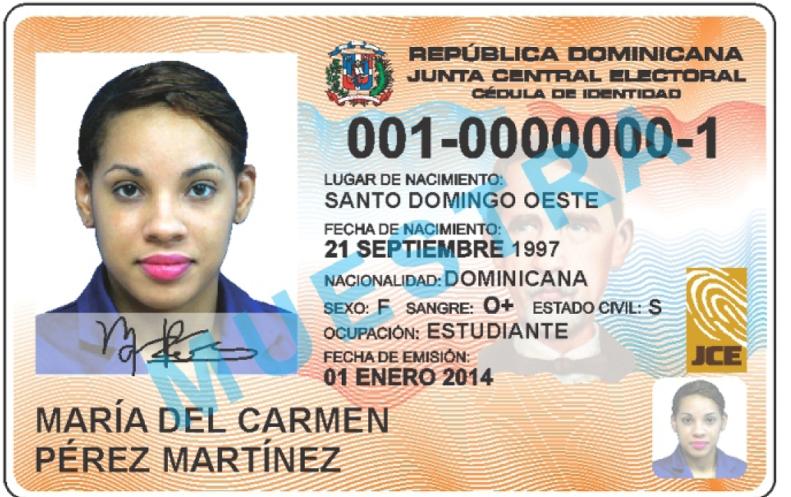 Características De Nueva Cedula Identidad Y Electoral Dominicana