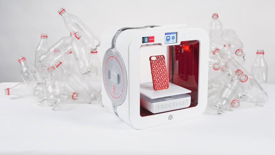 Crean primera impresora 3d que usa botellas pl sticas for Primera impresora 3d