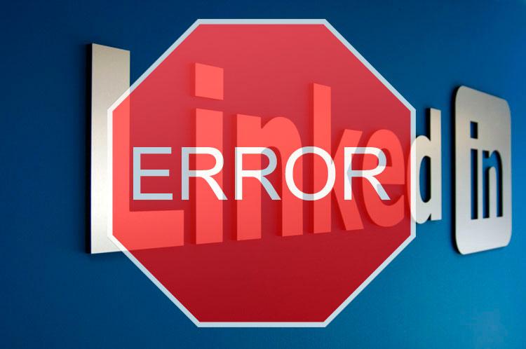 error  LinkedIn
