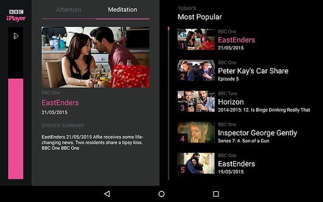 control tv bbc tv