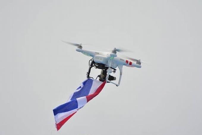 drones en santo domingo
