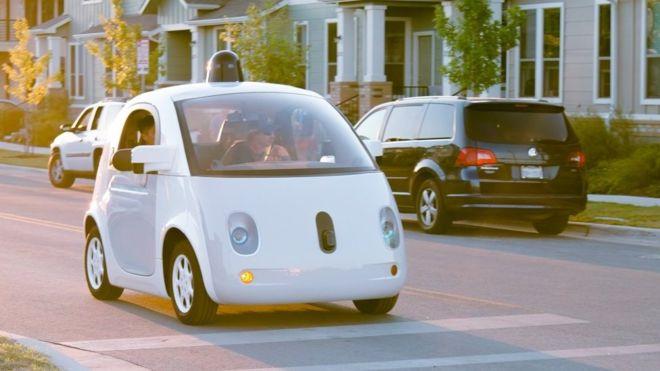 google car sin volante