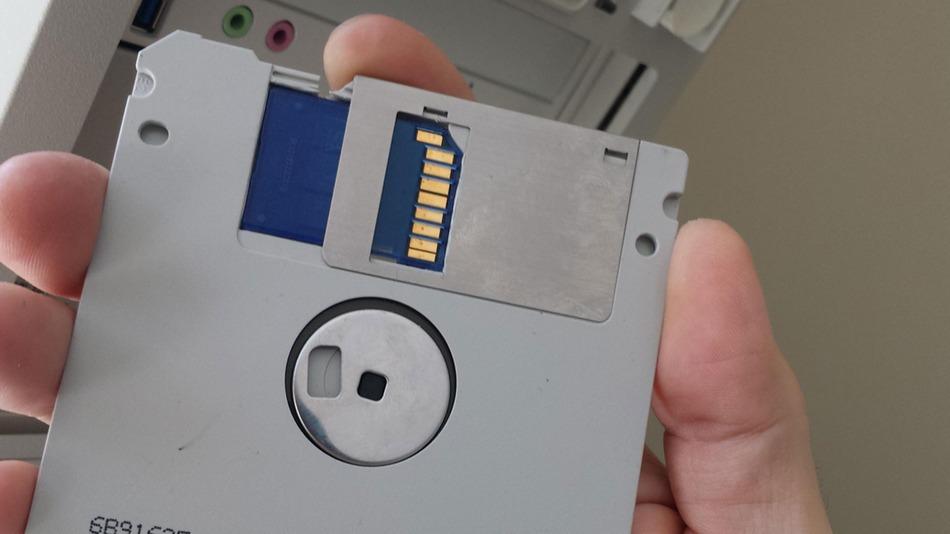 disquetes memoria
