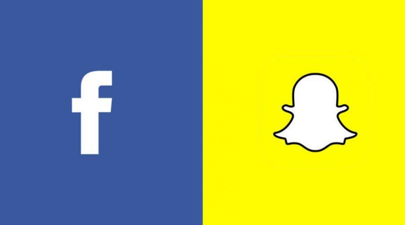 snapchat vs facebook