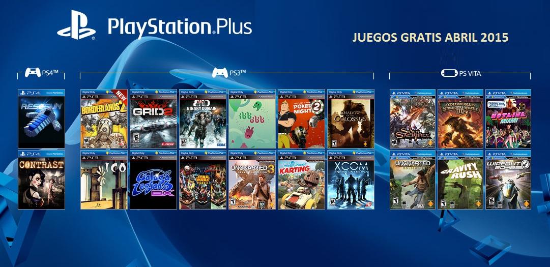 Sony Anuncia Juegos Gratis Para Ps3 Ps4 Y Ps Vita Audiencia