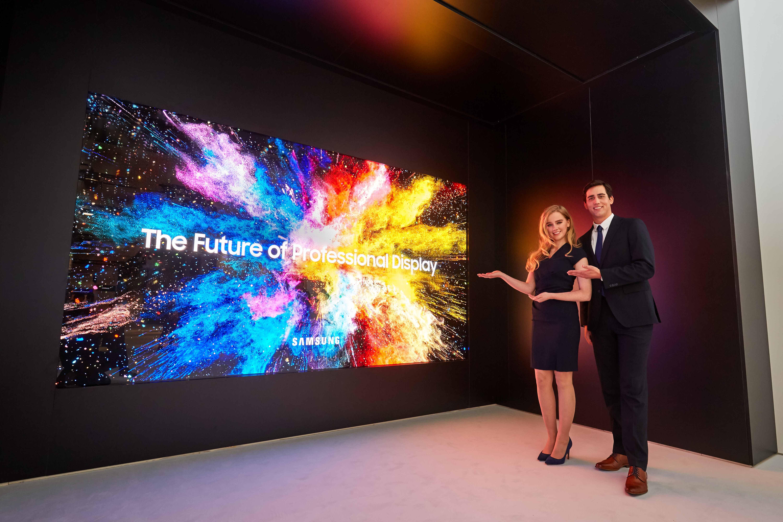 Samsung presenta la primera pantalla de cine LED 3D | Audiencia ...